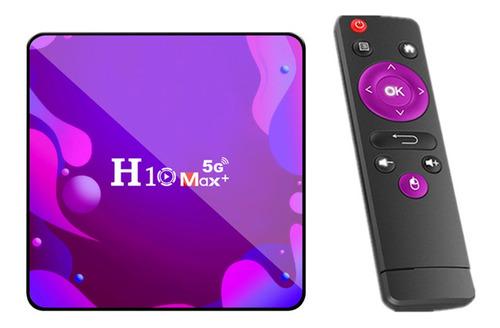 H10 Max+ Smart Tv Box Receptor Android 10.0 1gb+8gb 4k Medio