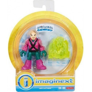 Figura Lex Luthor- Fisher Price Dc Súper Friends Imaginext