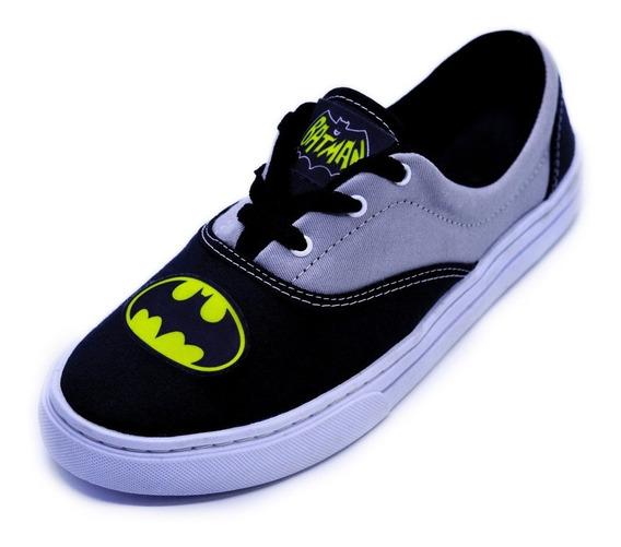 Tênis Adulto Batman Personalizado Unisex