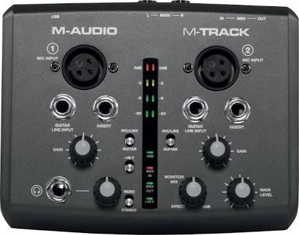 Interface M-audio M-track