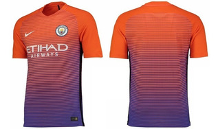 Terceira Camisa Do Manchester City 2016-2017 Nike