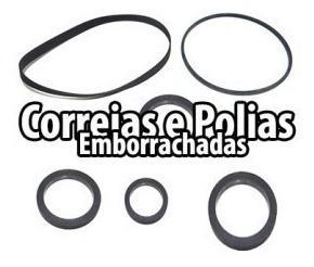 Correia Toca Discos De 20 Cm Correia 8,5 E 10cm X 4mm Chata
