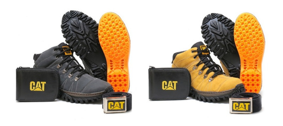 Kit 2 Pares Bota Tenis Caterpillar Botinha Adventure