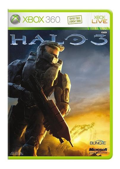 Halo 3 - Xbox 360 - Usado - Original - Midia Física