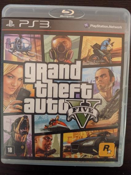 Jogo De Playstation 3 Grand Theft Auto V (gta 5) Usado