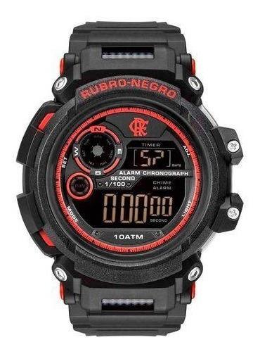 Relógio Flamengo Fla1101/8r - Preto