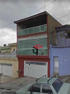Sobrado Com 3 Dormitórios Para Alugar, 158 M² Por R$ 2.000/mês - Jardim Las Vegas - Santo André/sp - So18004