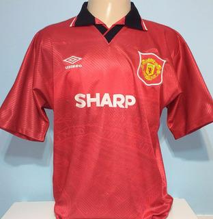 Camisa Manchester Antiga Umbro 1994 Ótimo Estado - 99