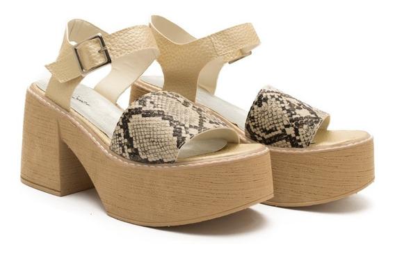 Zapatos Sandalias Mujer Plataforma Urbana Diarias Noche Mtna