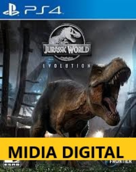 Jurassic World Evolution I Ps4 Portugues