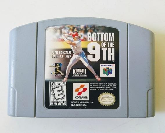 Bottom Of The 9th (original) Nintendo 64 Raro !