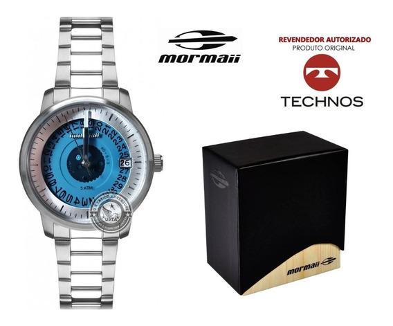Relógio Mormaii Feminino Maui Sunset Aço Prata Original Nfe