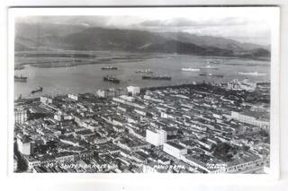 Foto Postal Colombo 89 Santos Panorama