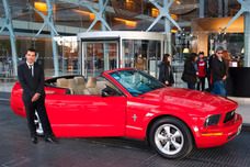 Alquiler De Autos Para Casamientos,15, Mustang Descapotable