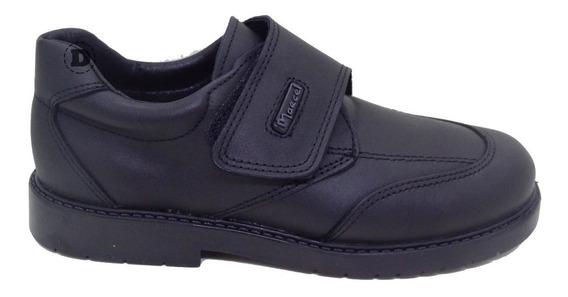 Zapatos Colegial Marcel Abrojo Varon Cuero Dreams Calzado Caballito G217