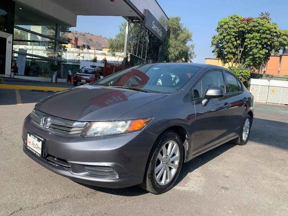 Honda Civic 2012 4p Dmt Ex Sedan Aut