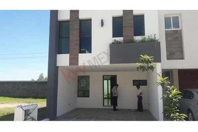 Casa En Venta Cholula Puebla, Casa Nueva En Fraccionamiento Cumbres A 8 Minutos Del Centro De Cholula