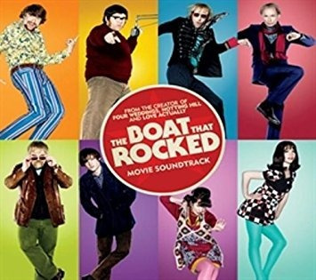 Filme Dvd - The Boat That Rocked - Importado