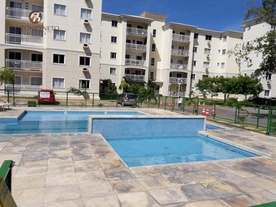 Apartamento Com 2 Dormitórios À Venda, 57 M² Por R$ 250.000,00 - Cambeba - Fortaleza/ce - Ap0071