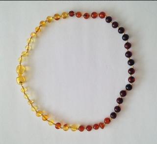 Collar Ámbar Bebé 32cms Rainbow