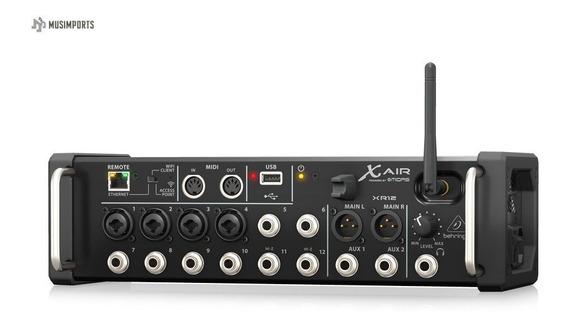 Mesa Digital 12 Canais Behringer Xr 12 X-air Xr12 Wifi Usb