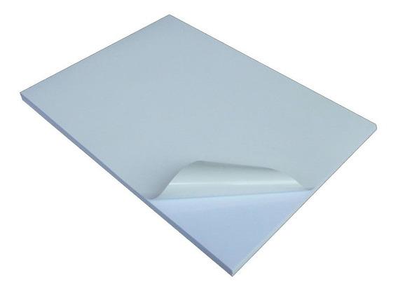 Papel A4 Adhesivo Autoadhesivo Obra 80 Grs.x 20 Hojas Inkjet