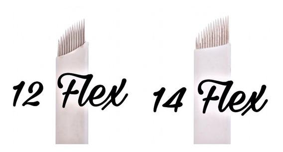 Agujas Microblading Filo 12/14