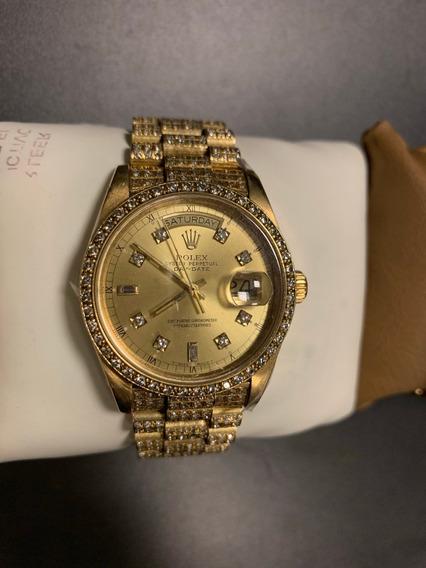 Reloj Rolex Oystey Perpetual Day-date 18k