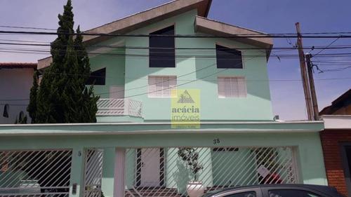Imagem 1 de 20 de Sobrado Com 3 Dormitórios Para Venda, 450 M² Por R$ 4.000/mês - Jardim Pinheiros - São Paulo/sp - So2627