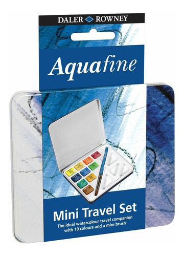 Set Acuarelas Daler Rowney X10 Travel Mini