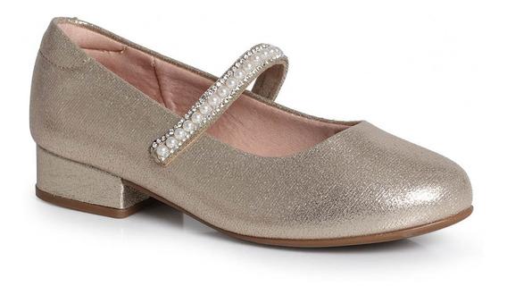 Sapato Boneca Infantil Molekinha Metalizado