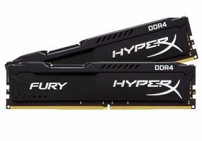Memória Hyperx Fury Gamer Kingston 8gb Ddr4 2400mhz