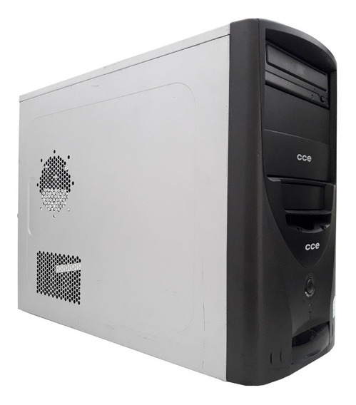Cpu Pc Desktop Computador Cce 2gb Ram 320gb Hd Windows 7