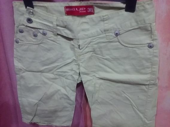 Bermuda Short Pantalon Talle 36 Bermuda Talle 38 Miralos!!