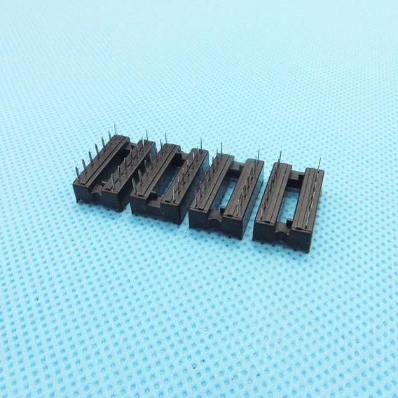 Kit 10 Und Socket / Soquete Dip14 Pinos P/ Cis Attiny85