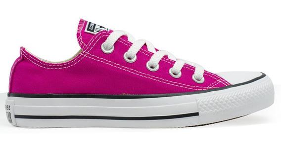 Tênis Converse All Star Seasonal Ox Pink Fluor Original