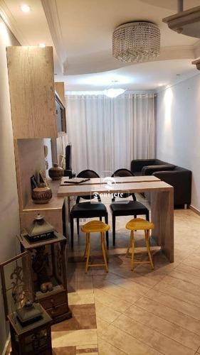 Cobertura Com 3 Dormitórios À Venda, 111 M² Por R$ 930.000,01 - Casa Branca - Santo André/sp - Co11524