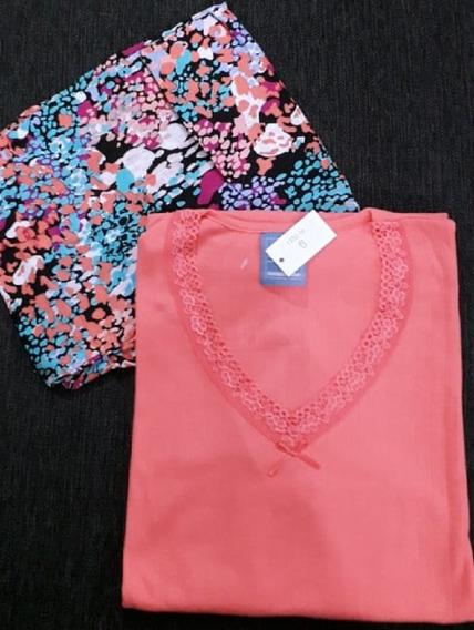 Pijama Mujer Dama Teens Estampado Liso Invierno Modelos