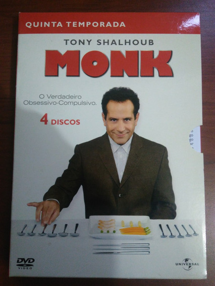Dvd Monk 5ª Temporada - Original