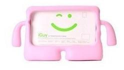Capa Protetora Criança Kids Galaxy Tab 3 4 7 Polegadas Rosa