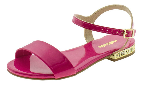 Sandália Infantil Feminina Molekinha - 2319101 Pink