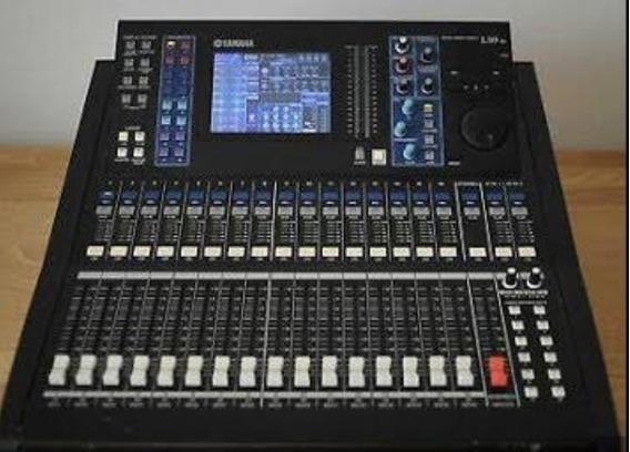 Mesa Ls9 Yamaha 16 Canais Compacta Com Ada E Placa