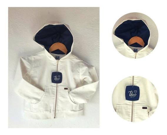 Jaqueta Infantil Com Capuz E Ziper Masculino Criança Casaco