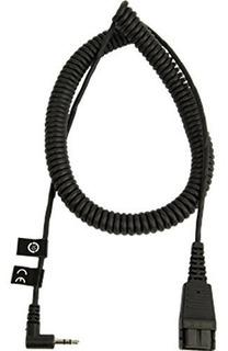 Cable En Espiral De 2m Con Conector Gn Qd De 25 Mm A Un Cone