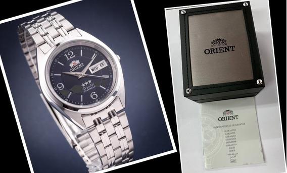 Relógio Automático Orient Fab0000ed9 Original + Caixa 3 Star