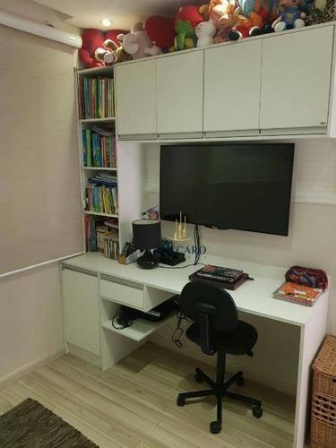 Apartamento À Venda, 75 M² Por R$ 480.000,00 - Jardim Rosa De Franca - Guarulhos/sp - Ap15548