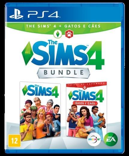 Jogo Mídia Física The Sims 4 Bundle Com Cães E Gato Para Ps4