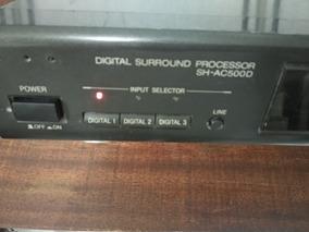 Digital Surround Technics Sh-ac500d Perfeito Particular