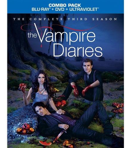 Blu-ray  Diários De Um Vampiro  3 Temporada