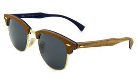 643c49c85 Par Lentes Ray Ban Originais Clubmaster - Óculos no Mercado Livre Brasil